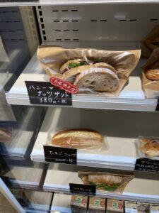 豊富なサンドイッチ