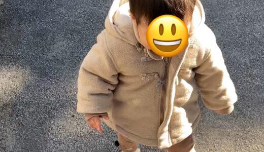【成長記録】ついに家の外で歩くようになった息子と、ただ散歩をする